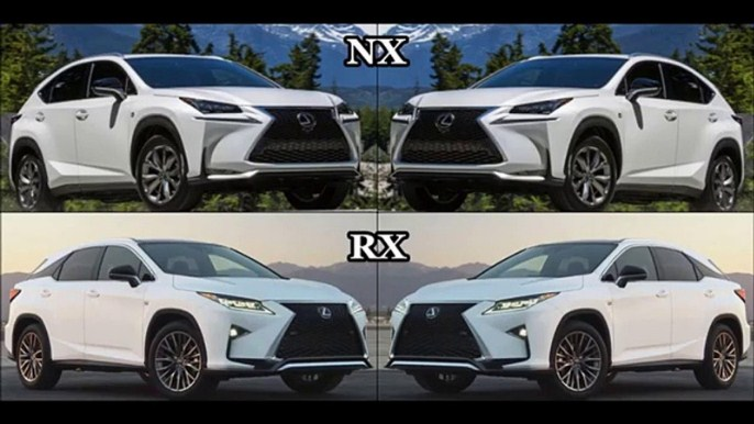 So sánh về mức độ an toàn Lexus RX350 vs NX200t 2015