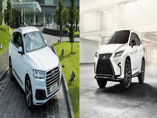 so sánh Audi Q7 và Lexus RX350