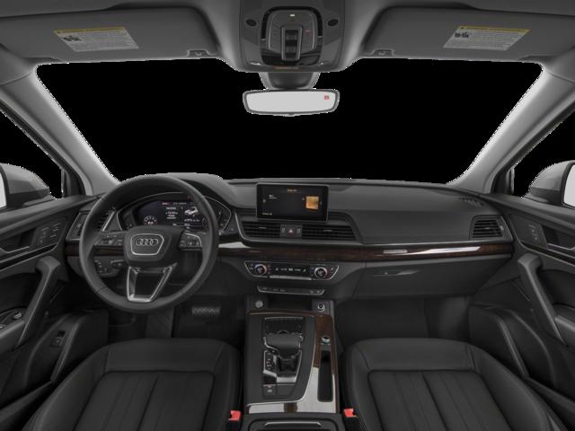 Thiết kế vô lăng và khoang điều khiển toát lên vẻ mạnh mẽ của Audi Q5