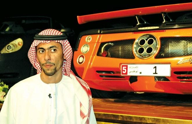 """Biển số xe đắt nhất thế giới """"1"""" – 14.3 triệu USD"""