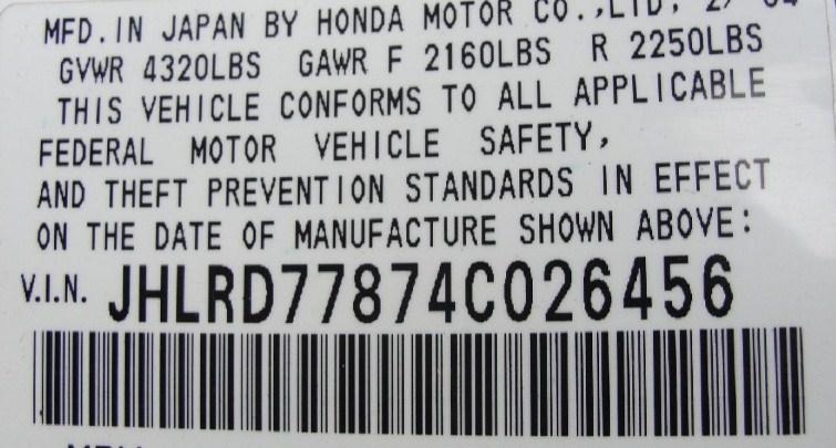 Số VIN  xe ô tô là gì?