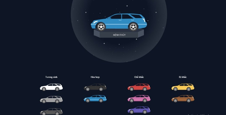 Người mệnh Thủy nên chọn màu xe nào để tránh tiền mất tật mang dinh về nhiều tài lộc