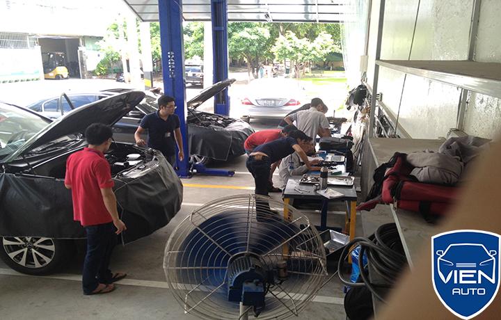 Bảo dưỡng xe sang Lexus tại Viện Auto
