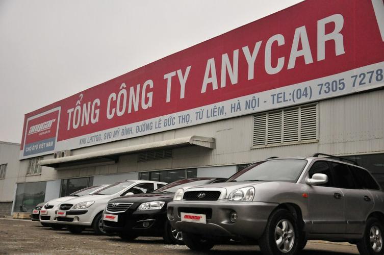 Mua bán xe ô tô cũ tại Anycar