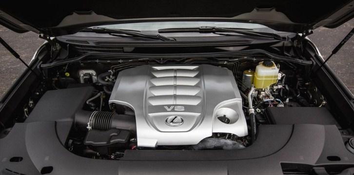 Dung tích bình xăng xe lexus lx 570 đủ để bạn đi một hành trình dài