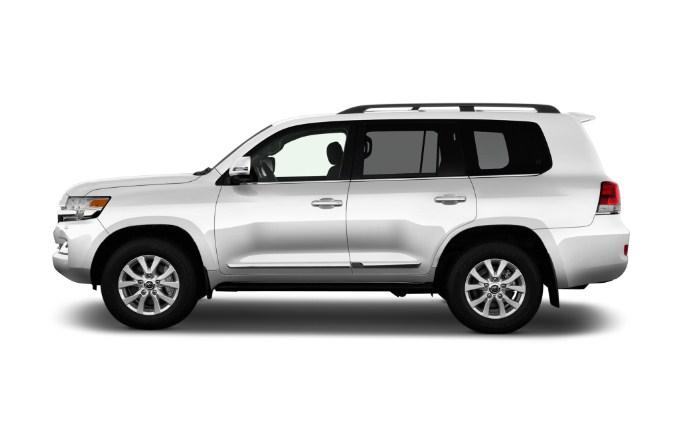 ngoại hình ngoại thất của Toyota Land Cruiser