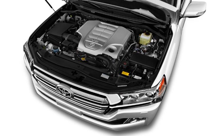 động cơ V8 4.6L 304 mã lực của Toyota Land Cruiser