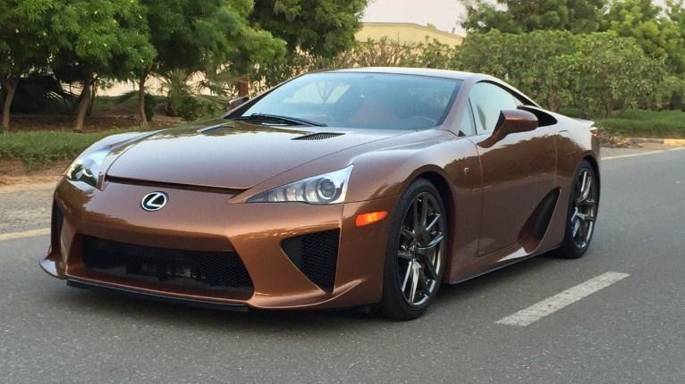 Lexus đắt nhất: LFA Brown Pearl – 14.7 tỷ đồng