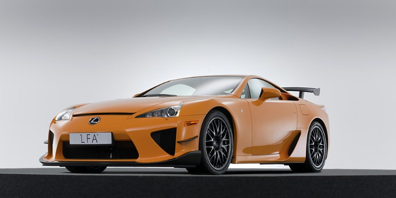 Lexus đắt nhất: LFA Nurburgring Performance Package