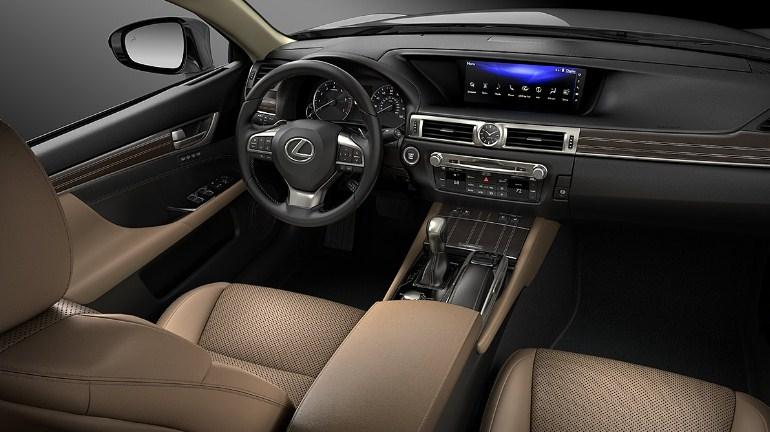 nội thất Lexus GS350 2019