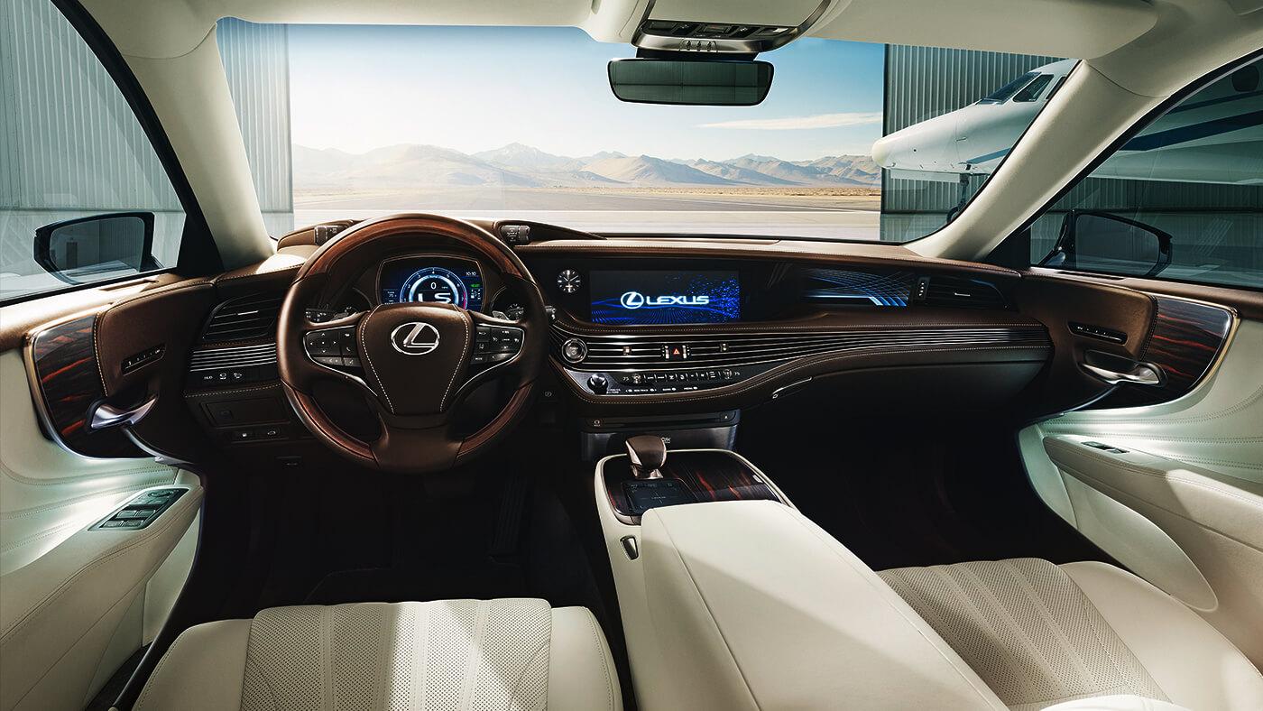 nội thất Lexus LS500