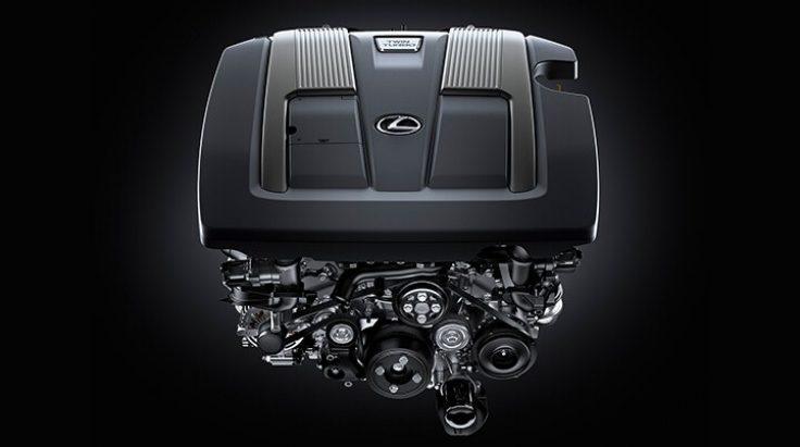động cơ trang bị Lexus LS460 2017