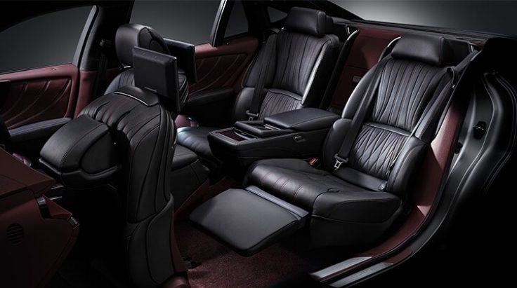 tổng quan không gian nội thất lexus ls500, ls500h