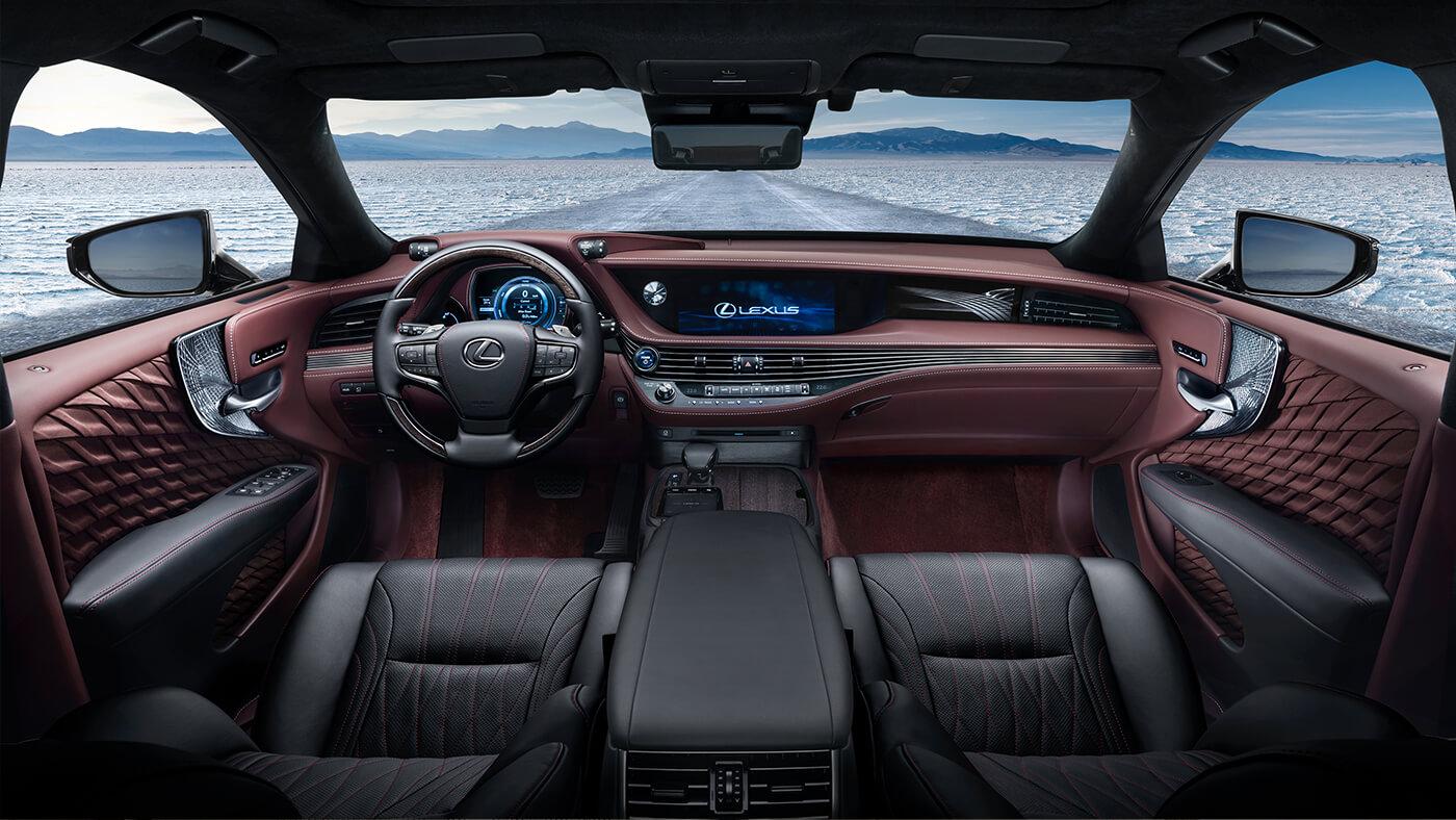 nội thất Lexus LS500 2019