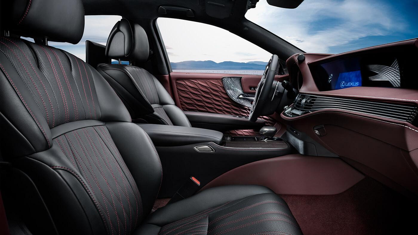 Nội thất xe Lexus LS500, LS500h 2019: thiết kế đầy mê hoặc quyến rũ