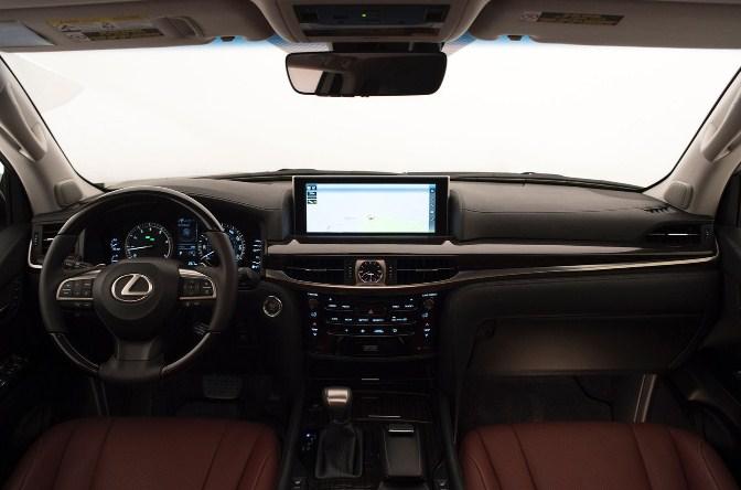 Khám phá các nút chức năng trên xe Lexus LX570