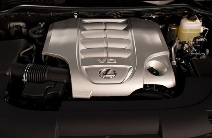 Lexus LX570 động cơ V8 5.7L cho công suất 367 mã lực