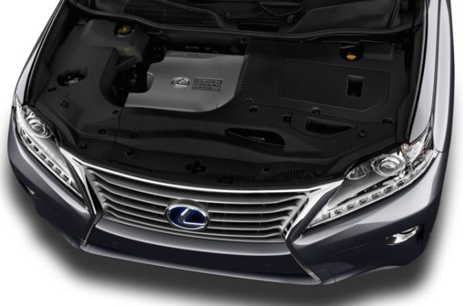 Động cơ V6 3.5L công suất 275 mã lực của RX350 đời 2013