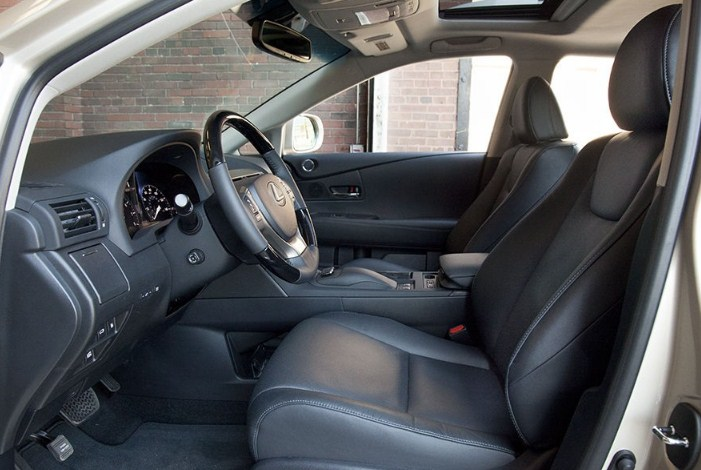 nội thất của Lexus RX350 2015