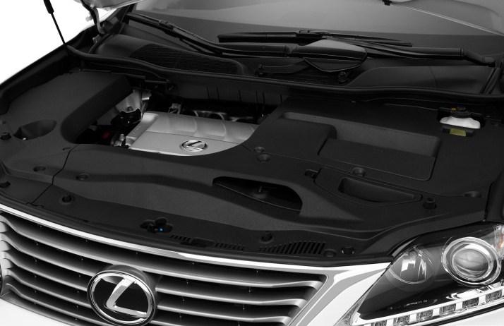 động cơ mạnh mẽ V6 3,5L của Lexus RX350 2015