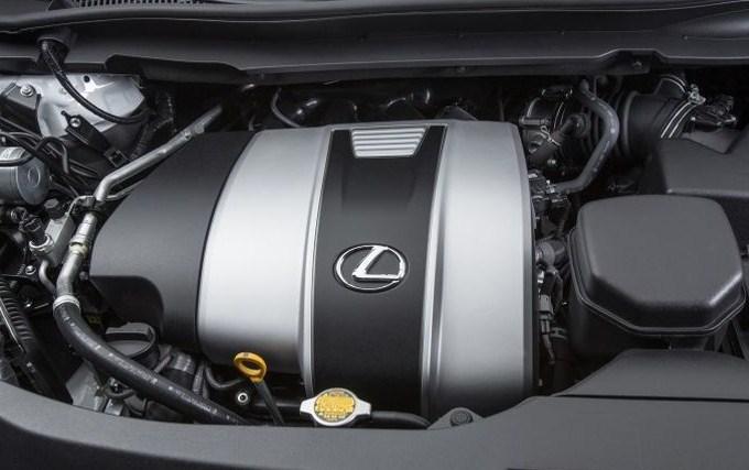 động cơ mạnh mẽ của Lexus RX350