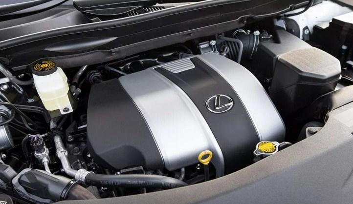 Động cơ V6 3.5L của Lexus RX350 cho công suất 274 mã lực