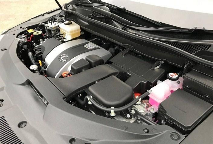 Lexus RX450h mang động cơ V6 3.5L
