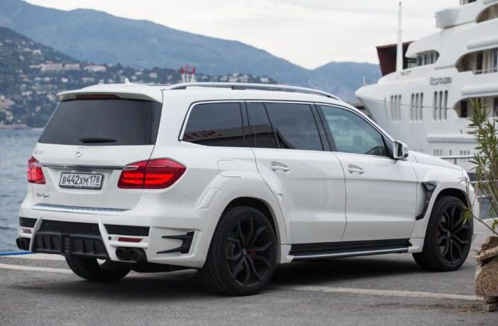 ngoại hình mới sensual purity của Mercedes GLS 500