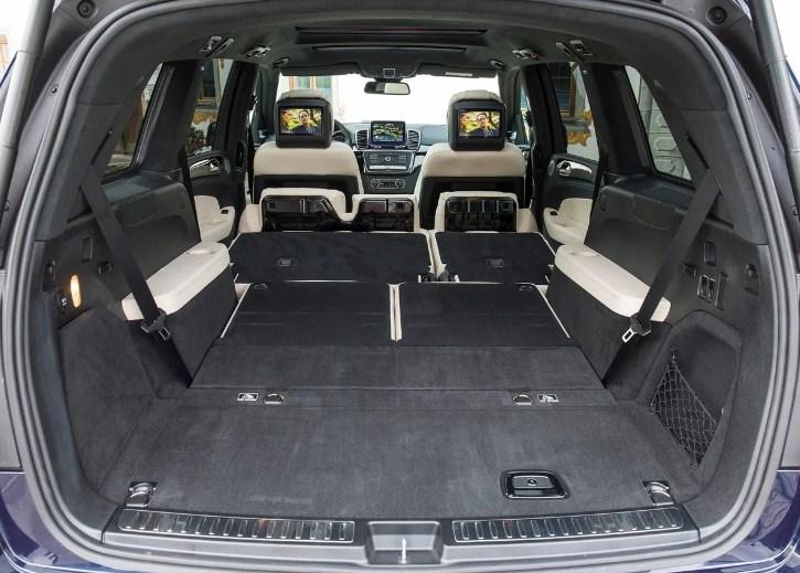 Nội thất sang trọng tiện nghi hiện đại của Mercedes GLS 500
