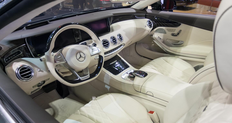 nội thất Mercedes S500L