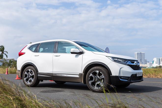 Honda CR-V là một trong những mẫu Crossover bán chạy nhất trong thời gian qua