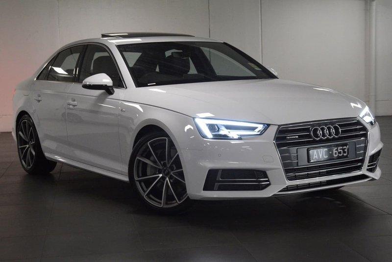 Sedan hạng sang cỡ nhỏ Audi A4 2018