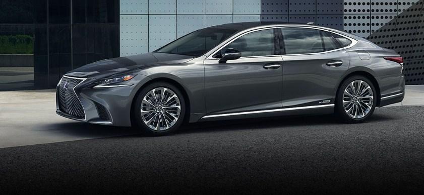 Sedan hạng sang cỡ lớn Lexus LS500 2018