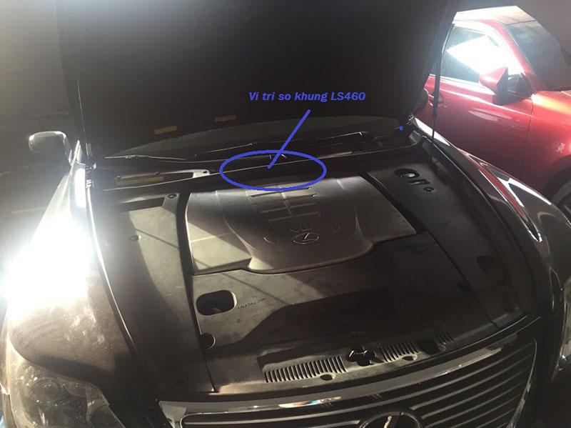 Cách xác định đời xe ô tô Lexus qua số VIN