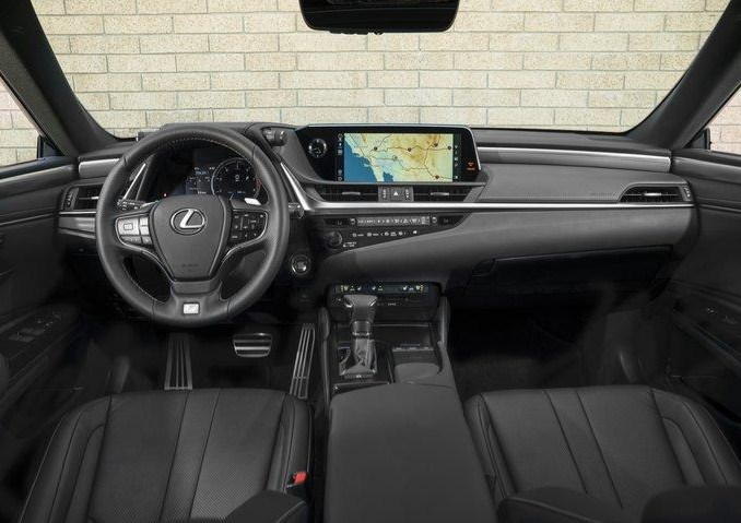 nội thất Lexus ES 2020
