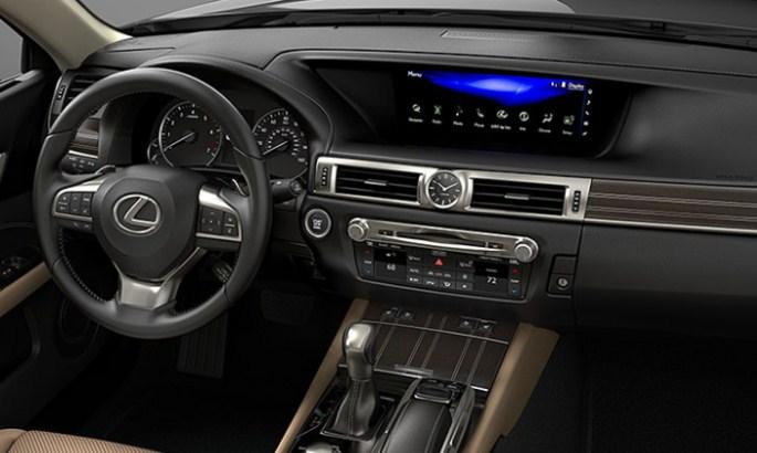 nội thất Lexus GS350 2020