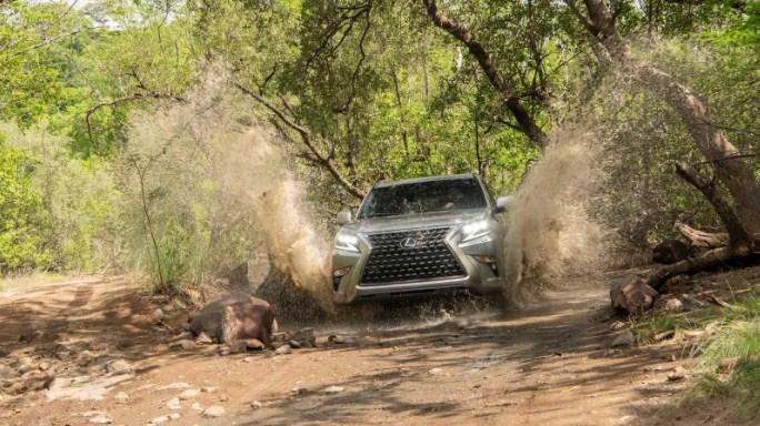 Trình làng Lexus GX460 2020 dẫn đầu về khả năng off-road