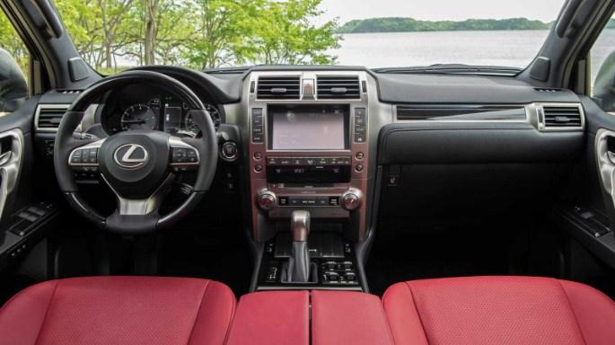 nội thất Lexus GX460 đời 2020