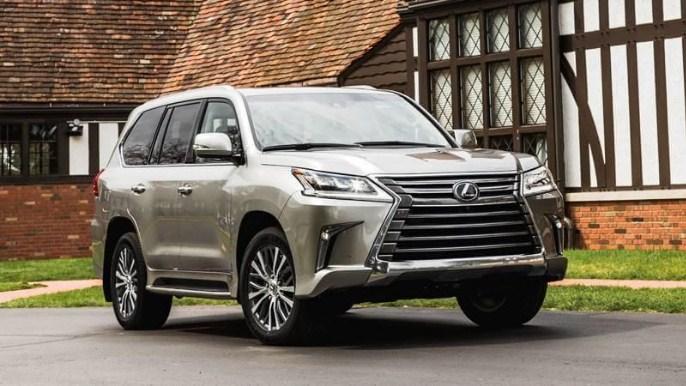 Giá xe Lexus LX570 2018 tính tổng thể