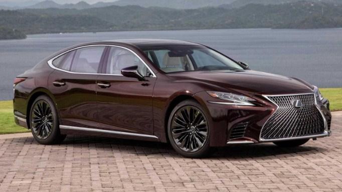 Lexus LS 500 2020 chiếc xe của tương lai sẽ chỉ sản xuất 300 chiếc