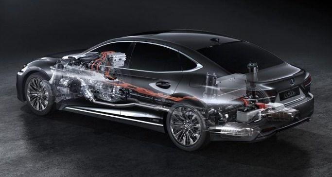 động cơ trên Lexus LS 500 2020