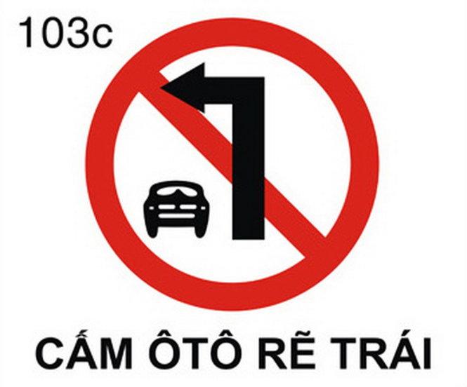 Khi nào được xem là mắc lỗi cấm rẽ trái ô tô