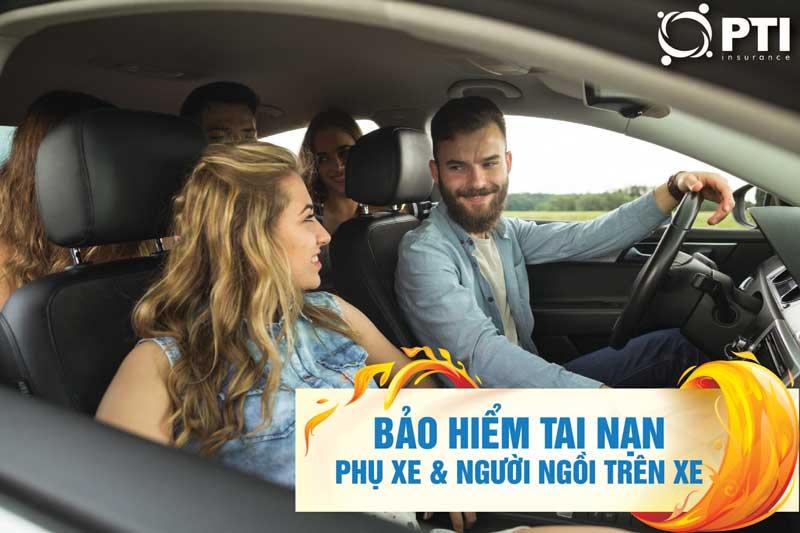 Bảo hiểm tai nạn lái, phụ xe và người ngồi trên xe
