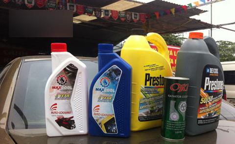 Tìm hiều Các loại nước làm mát ô tô và cách pha nước làm mát ô tô cơ bản