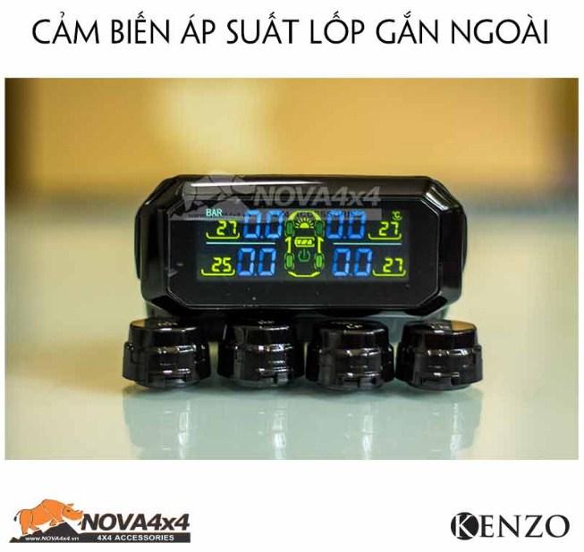 Sản phẩm cảm biến áp suất lốp gắn ngoài Kenzo TPMS E100