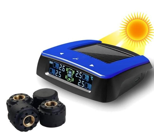 Mẫu cảm biến áp suất lốp xe gắn ngoài TPMS KSE
