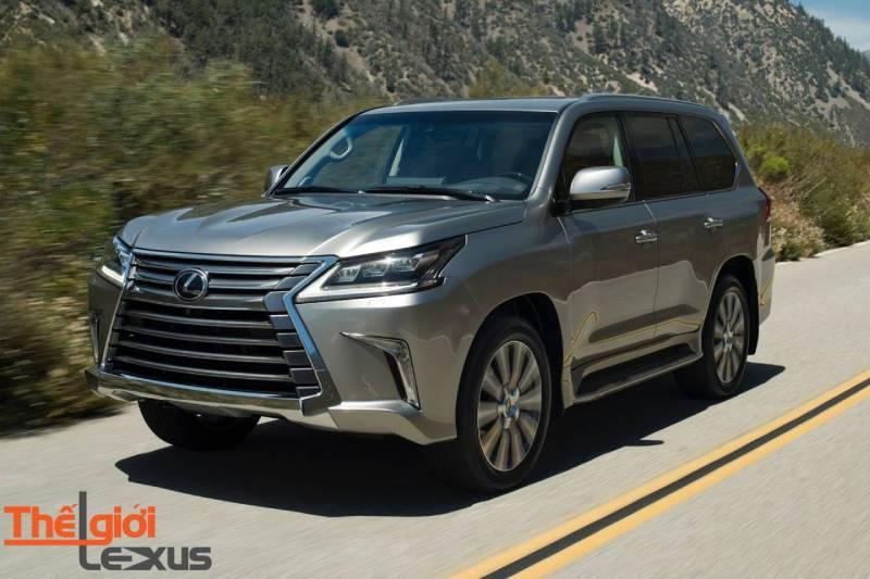 Cập nhập tình hình giá xe Lexus LX570 tại Mỹ năm 2019