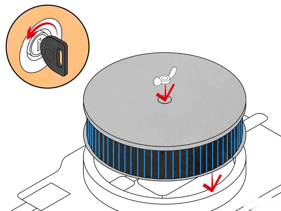 Lắp lại bộ lọc khí và lái xe kiểm tra sau khi chỉnh chế hòa khí ô tô