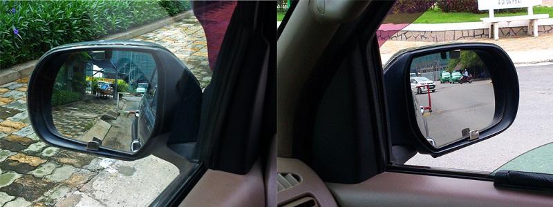 Cách chỉnh gương chiếu hậu: Xác định rõ số gương trên xe