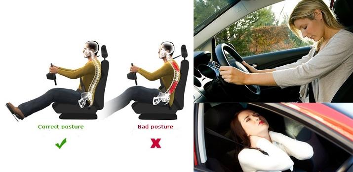 Có được tư thế ngồi xe ô tô đúng sẽ giúp bạn thoải mái trên cả cung đường dài